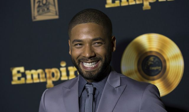 Empire actor Jussie Smollett accused of faking own homophobic attack