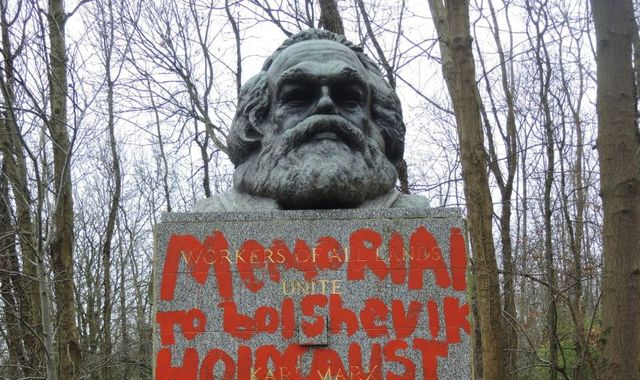 'Senseless': Karl Marx memorial vandalised for second time in two weeks