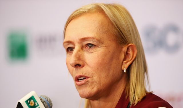 Martina Navratilova dropped by LGBT group over 'transphobic' comments