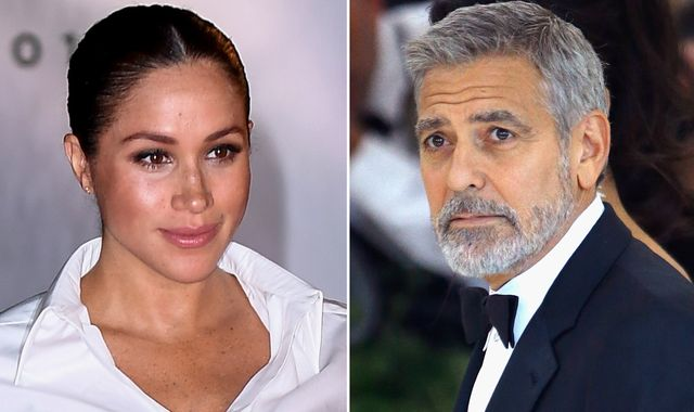 George Clooney compares Meghan to Princess Diana, saying: 'We've seen how that ends'