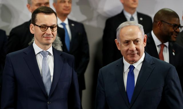 Poland pulls out of Israel summit after 'racist' comments in row over Holocaust