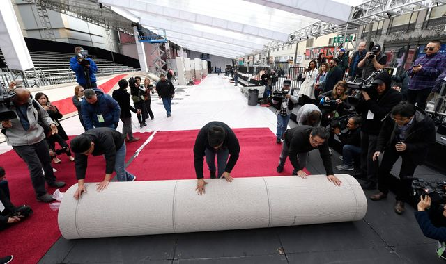 Oscars: Behind the scenes as Hollywood prepares for the biggest night in film