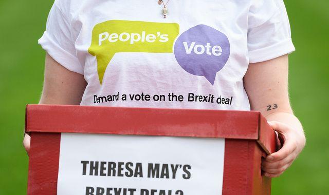 More than 40 ex-diplomats calls for second EU referendum over Brexit 'fiasco'