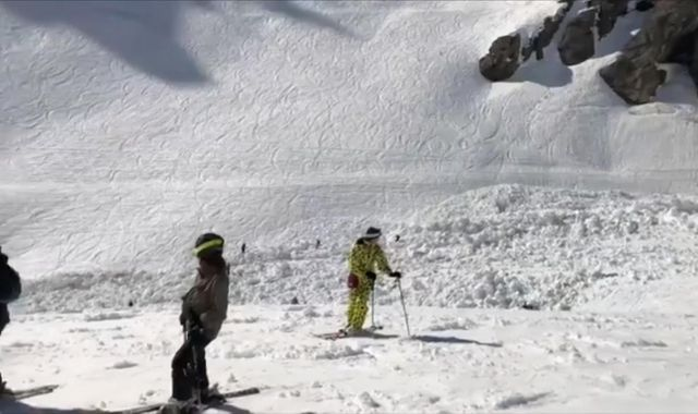 Search for survivors after Swiss avalanche injures at least four people