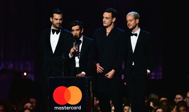Brit Awards 2019: The 1975 win best British album and best group