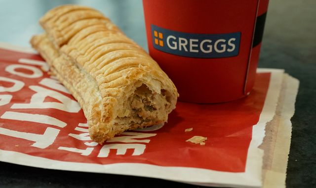 Vegan sausage roll furore helps Greggs bring home the bacon