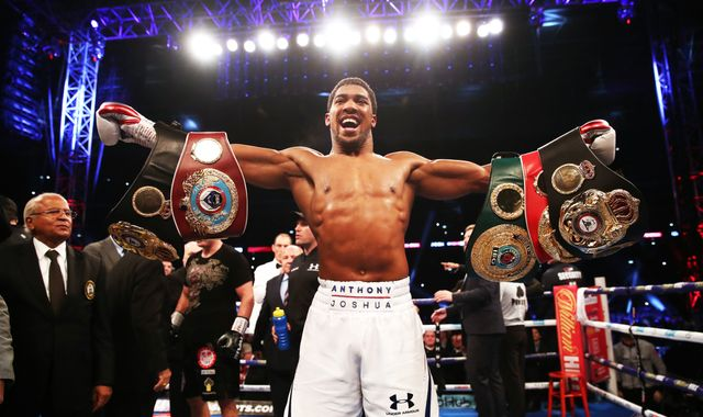 Anthony Joshua still wants future fight with Deontay Wilder if he cannot agree Tyson Fury rematch