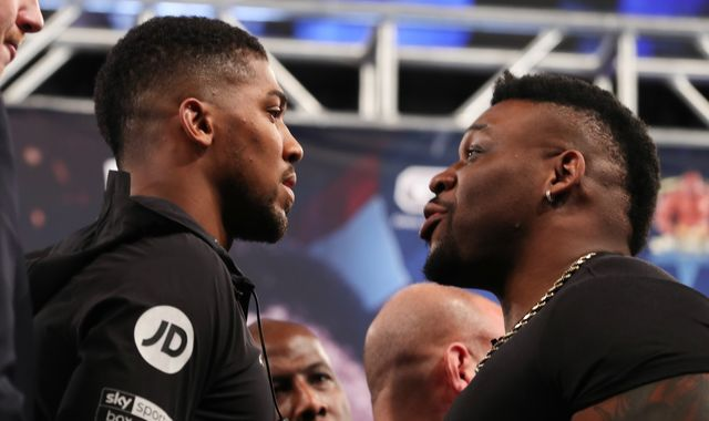 Joshua vs Miller: Anthony Joshua was irked by Jarrell 'Big Baby' Miller - that could result in bad news for the challenger
