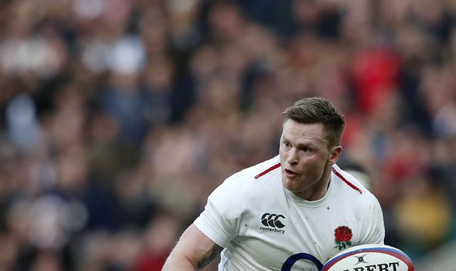 Chris Ashton ruled out of Wales vs England Six Nations showdown