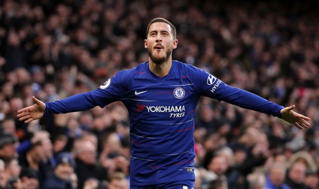 Eden Hazard denies he has agreed five-year Real Madrid deal