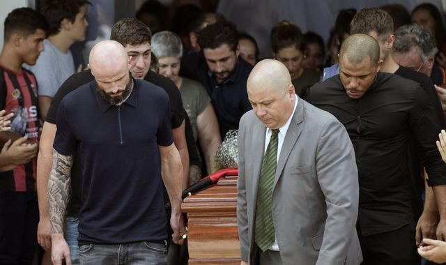 Emiliano Sala's funeral takes place in Argentina