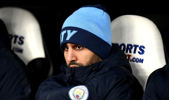 Riyad Mahrez not starting at Manchester City is my fault, says Pep Guardiola