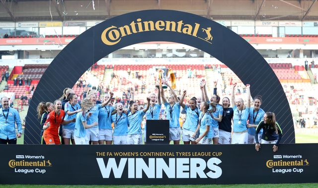 Arsenal Women 0-0 Man City Women (pens: 2-4): Karen Bardsley the penalty shootout hero as City win League Cup