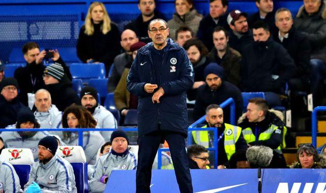 Maurizio Sarri bemoans  Chelsea's 'confusing football' in FA Cup defeat to Manchester United