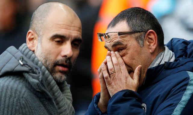 Maurizio Sarri's Chelsea struggle like Pep Guardiola's at Manchester City, says Gianfranco Zola