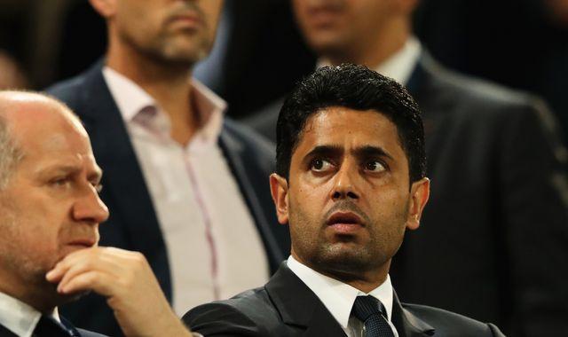 Paris Saint-Germain president Nasser Al-Khelaifi denies alleged athletics corruption