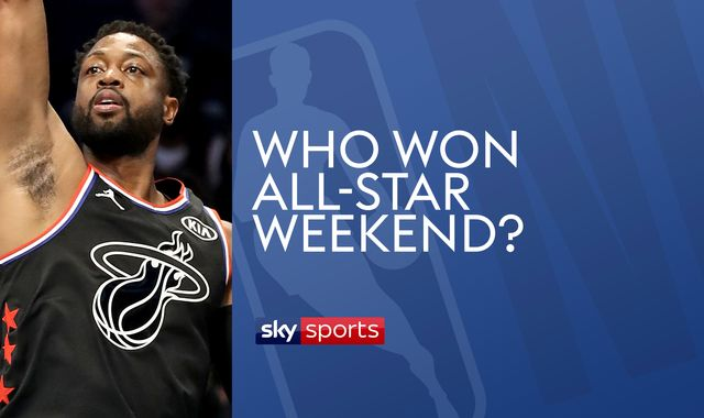 Dwyane Wade, Steph Curry, Kevin Durant and more shine at NBA All-Star weekend