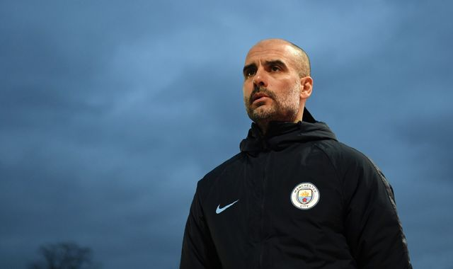 Pep Guardiola says Manchester City don't deserve pressure of quadruple bid
