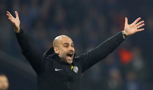 Pep Guardiola says Manchester City are not ready to challenge for the Champions League
