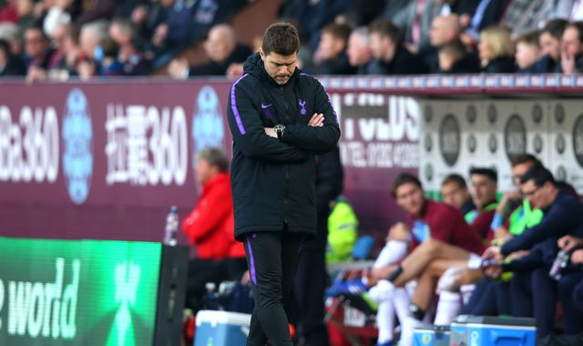Mauricio Pochettino says Tottenham's Premier League title hopes are now over
