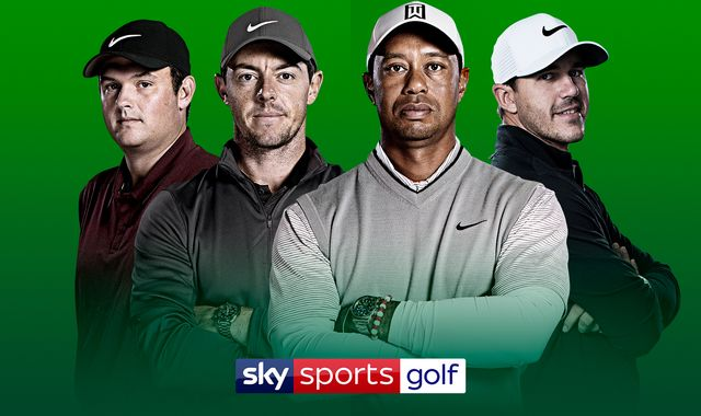 The Masters, PGA Championship, US Open, The Open live on Sky Sports in 2019