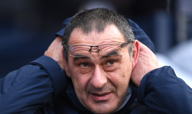 Maurizio Sarri's 'Sarriball' at Chelsea: The stats that show the system is failing