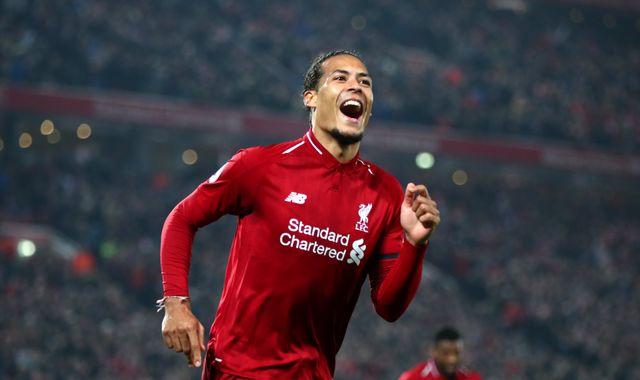 Virgil van Dijk at the heart of Liverpool's Premier League title challenge, says Luis Garcia