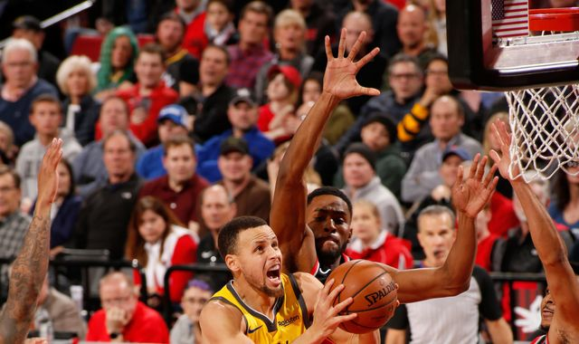 NBA round-up: Portland Trail Blazers snap Golden State Warriors five-game winning streak