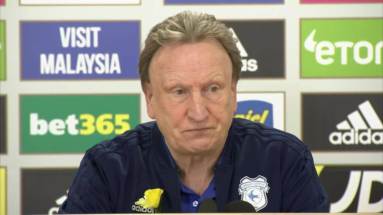 Cardiff boss Warnock admits tears at end of emotional win