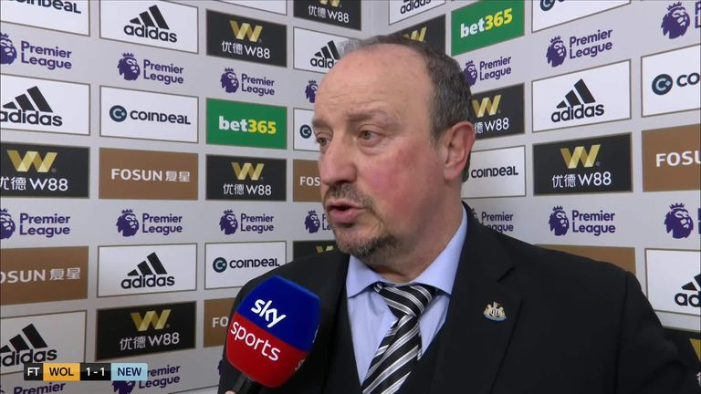 Rafa Benitez says Martin Dubravka has to be stronger | Football News |