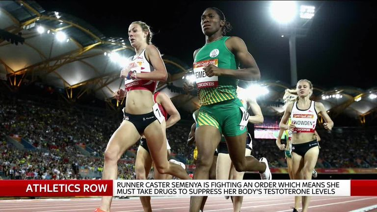 The South African runner is challenging plans that would force some female runners to lower their testosterone levels.