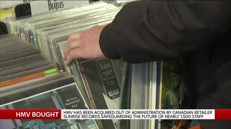 Vinyl HMV