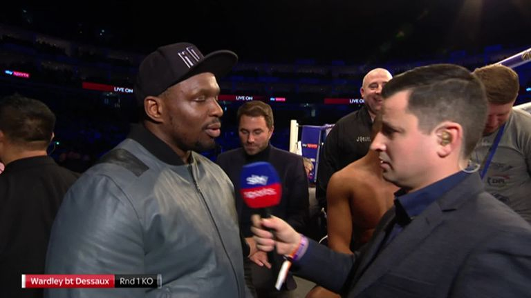 Dillian Whyte states he expects to fight Dominic Breazeale on April 20