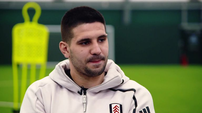 0:59                                               Aleksandar Mitrovic is planning a a miraculous recovery by Fulham