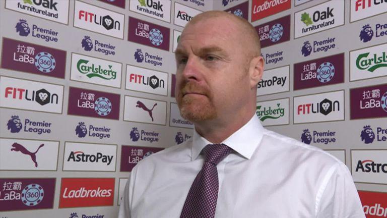 Sean Dyche hails 'relentless' Burnley after defeating Tottenham | Football News |