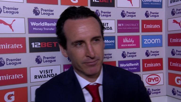 Arsenals Emery amid Monchi links We are working for change