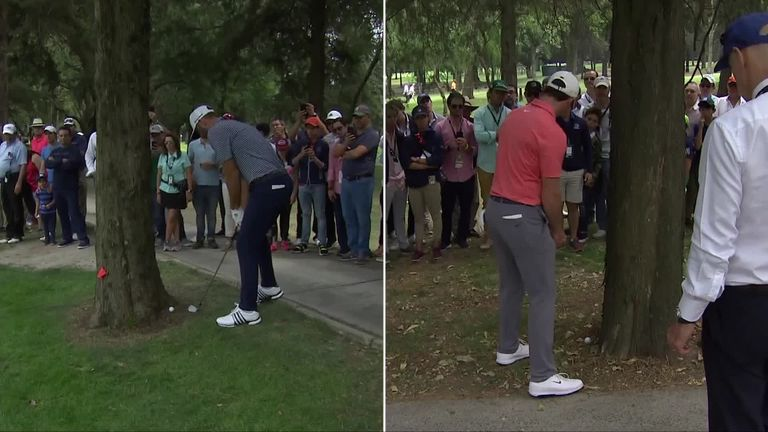 Johnson holds off McIlroy to win WGC-Mexico Championship