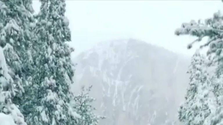 Yosemite National Park transformed into winter wonderland