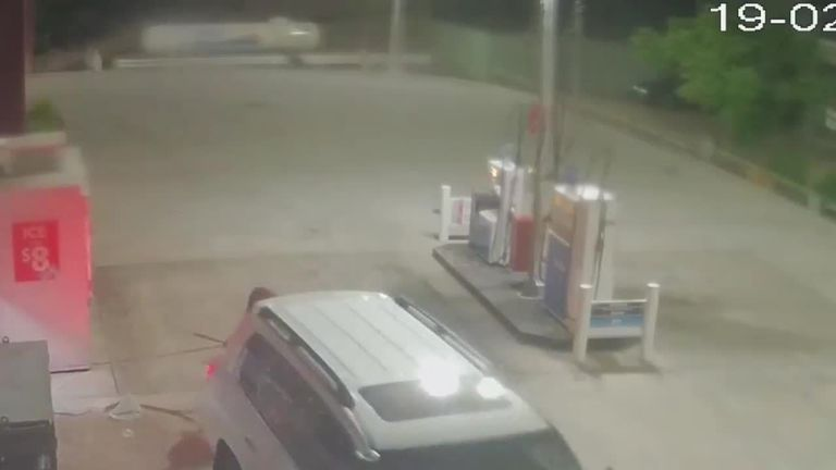 Attempted ATM theft in Australia