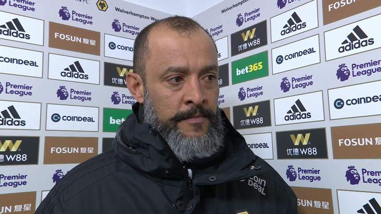 Nuno Espirito Santo says Wolves deserved controversial equaliser against Newcastle | Football News |