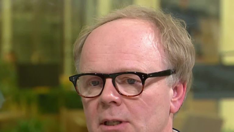 Actor Jason Watkins talks to Sky News about his daughter's death from sepsis