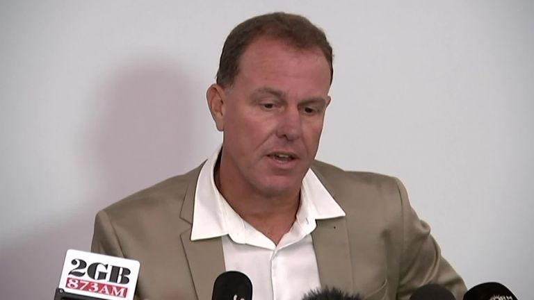 Former Australia women's coach Alen Stajcic held back the tears after being sacked on the basis of two two confidential surveys.