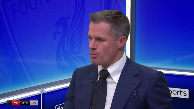 1:01                                            Jamie Carragher says Liverpool's front two 'haven't quite exploded'