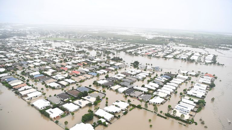 Flooding in Townsville. Queensland