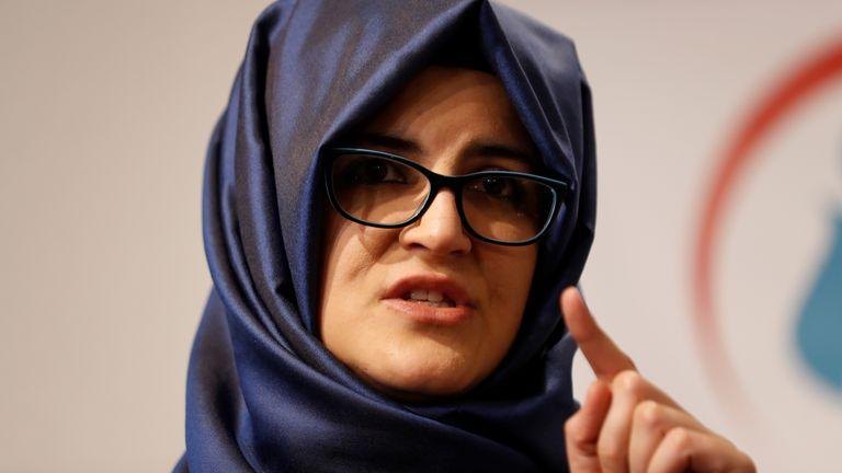 Jamal Khashoggi's fiancee Hatice Cengiz