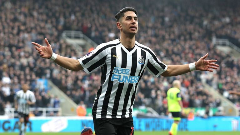 Highlights from Newcastle's 2-0 win over Huddersfield in the Premier League