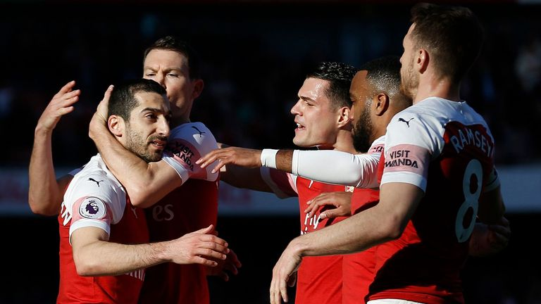 Henrikh Mkhitaryan insists Arsenal will not take their foot off the gas