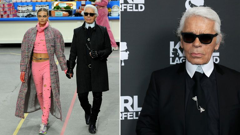 08046c7b3e06 Fashion icon and Chanel boss Karl Lagerfeld dies aged 85