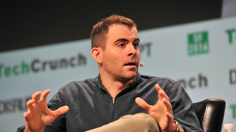 Vice President of Product Management at Facebook Adam Mosseri speaks onstage during TechCrunch Disrupt SF 2016