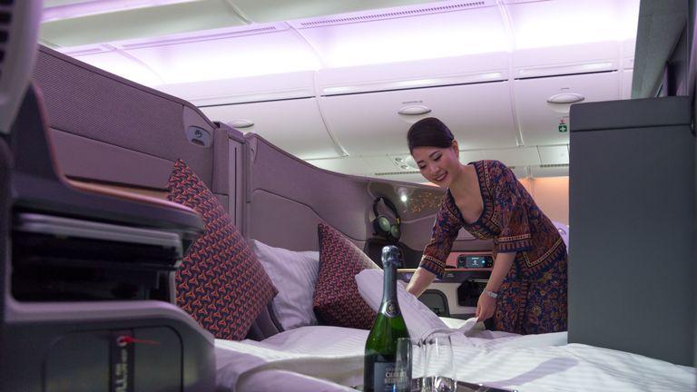 Airbus 380 interior